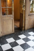 Doors and floors at Napoleon House, New Orleans