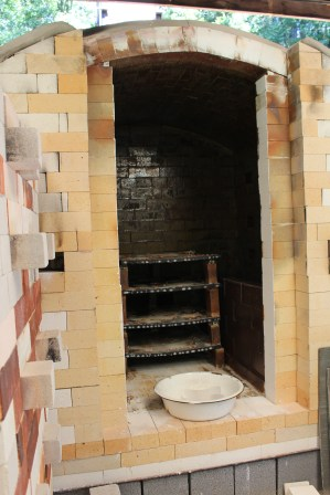 Deep inside Michael Kline's kiln