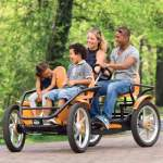 Four Person Pedal Car