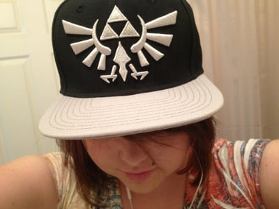 Zelda Triforce Hat