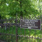 Old Burying Ground Sign