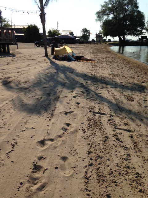 Accessible beach