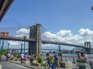 Brooklyn Bridge from South Sea Port
