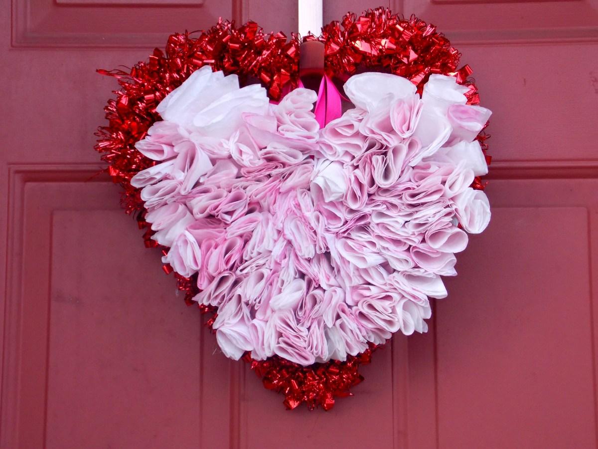 DIY Heart Wreath
