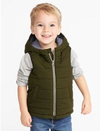 Hooded Canvas Vest
