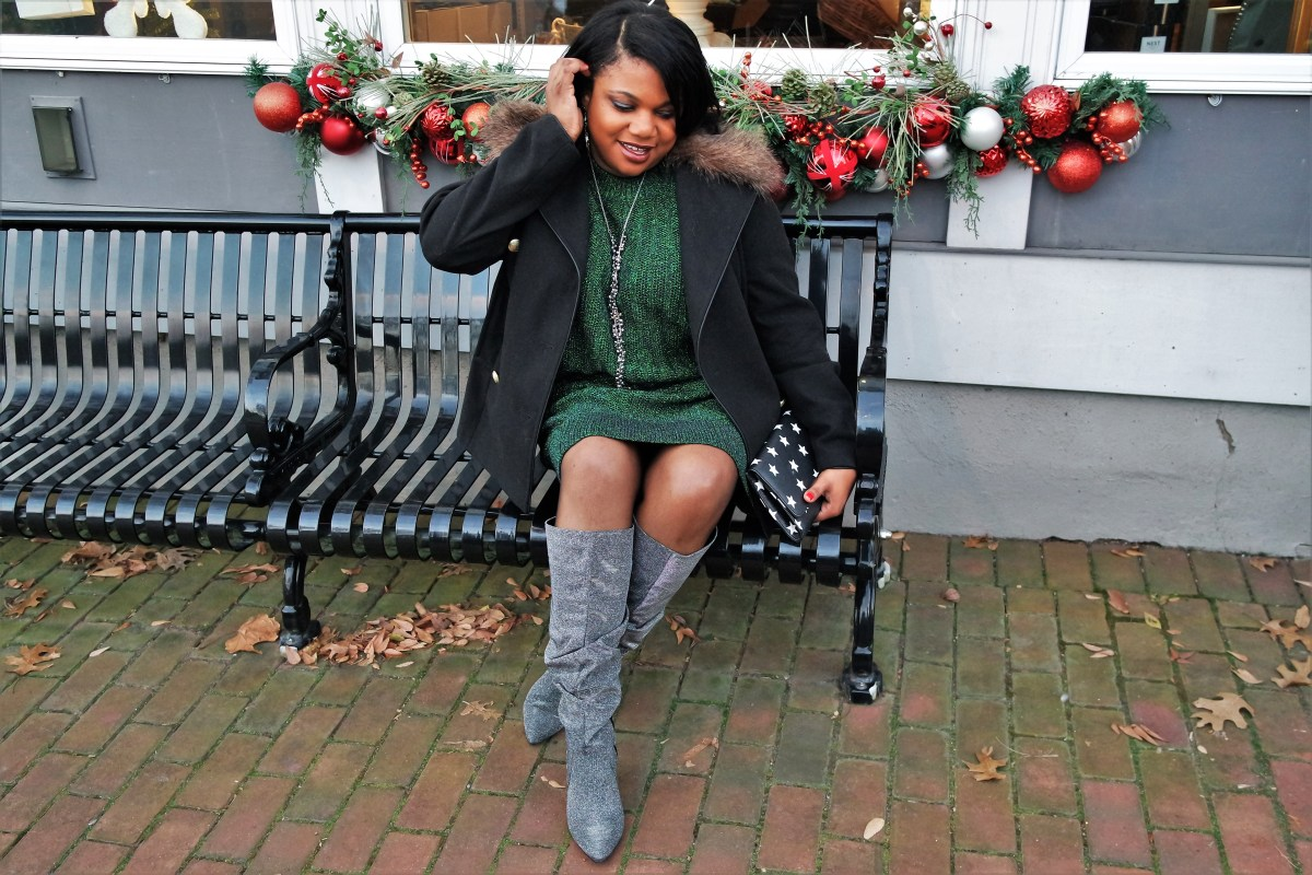 How to Style Your Sparkle Boots