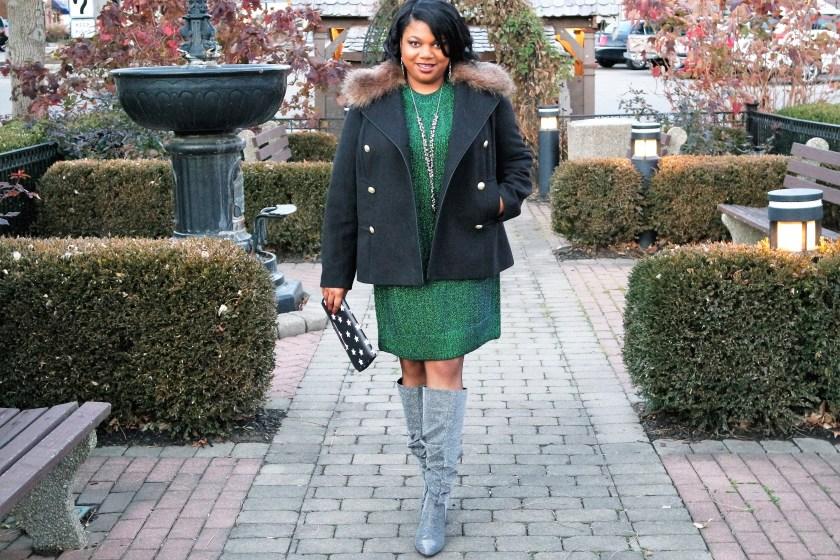 H&M Sparkle Sweater