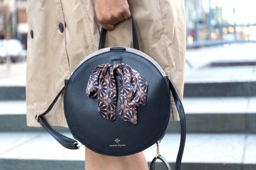 nanette lepore circle handbag