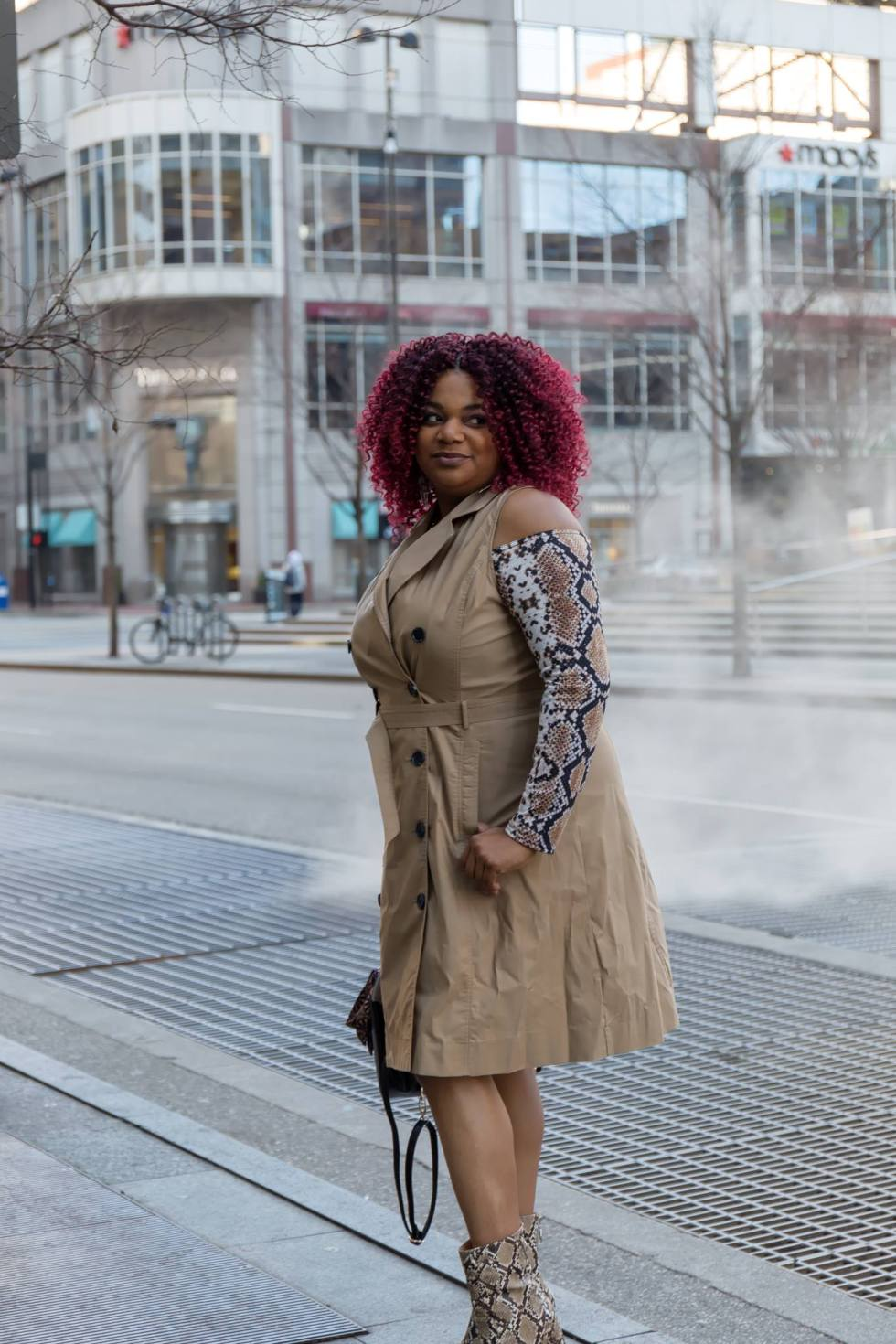 Target A New Day Trench Dress
