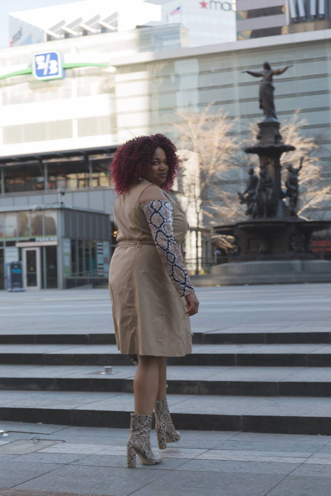 Target A New Day Plus Size Trench Dress