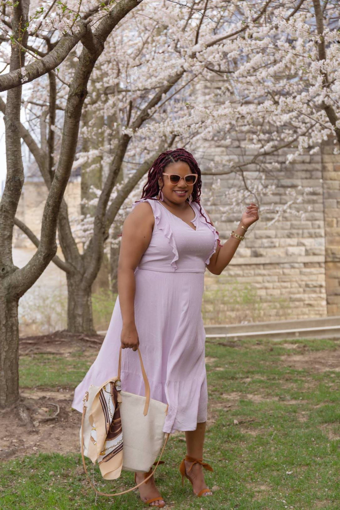 how to wear lilac for spring