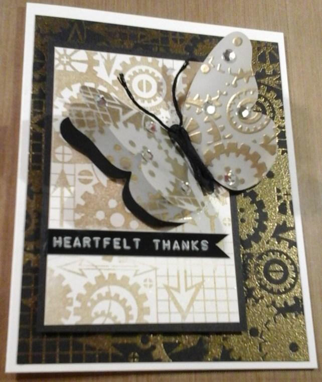 heartful thanks butterfly card by cyndi