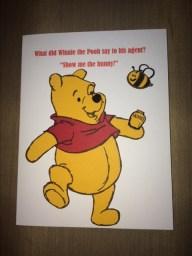 pooh bear joke card by cyndi