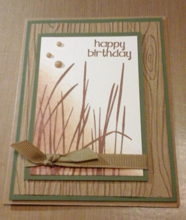 tall grass birthday card by cyndi