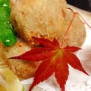 里芋の唐揚げ