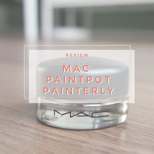 mac paintpot painterly swatch review