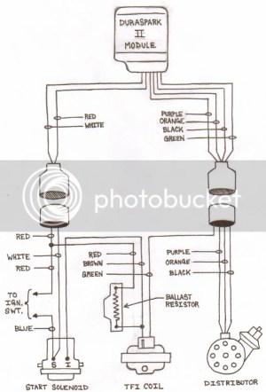 Duraspark  TFI Ignition Wiring Diagram Photo by LBOGRS   Photobucket