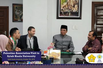 Palestine Association Visit to Syiah Kuala University