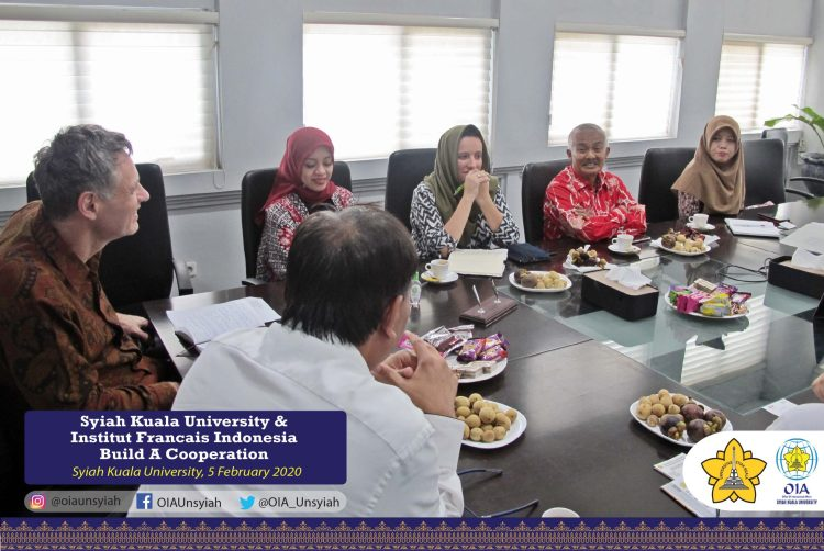 Syiah Kuala University & Institut Francais Indonesia Build A Cooperation