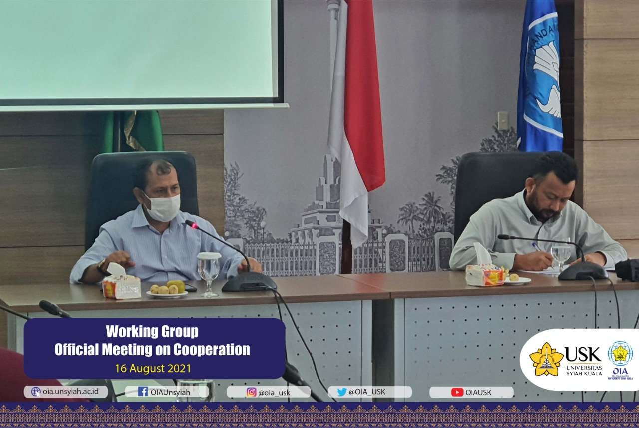 Working Group Official Meeting on Cooperation (1)