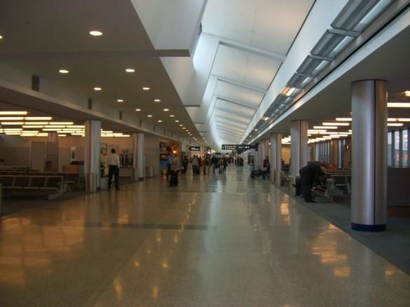 Terminal do aeroporto - Foto: Eric Major