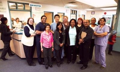 Equipe da Rexdale Community Health Centre
