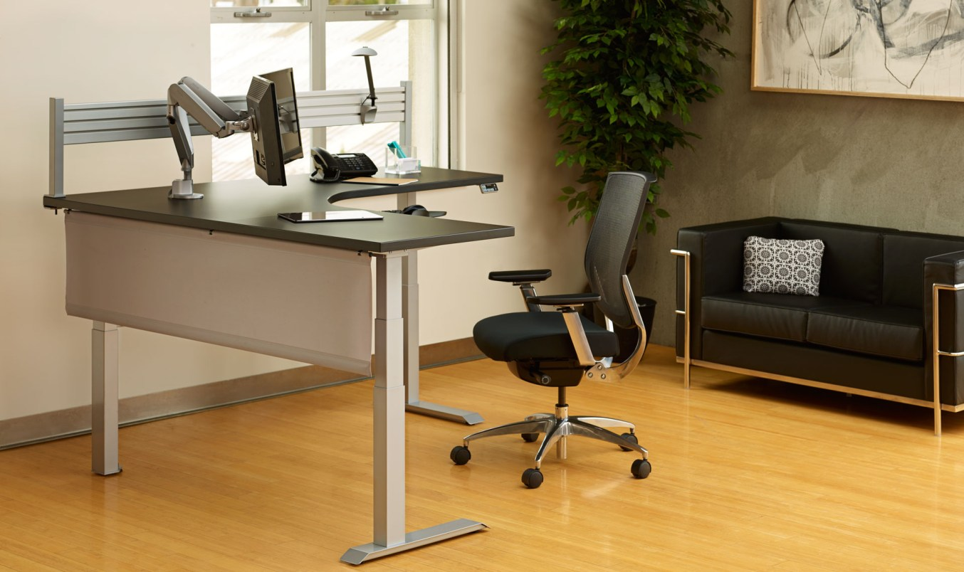 Sit to Stand Electric Desk