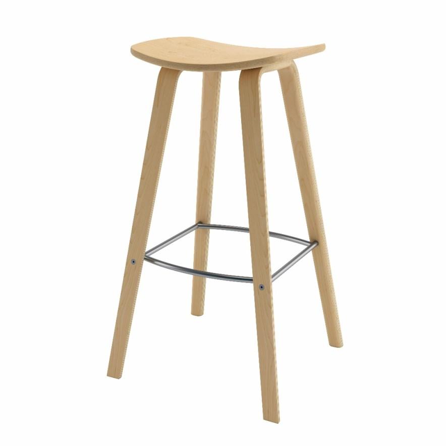 Thonet - Legacy Wood Barstool
