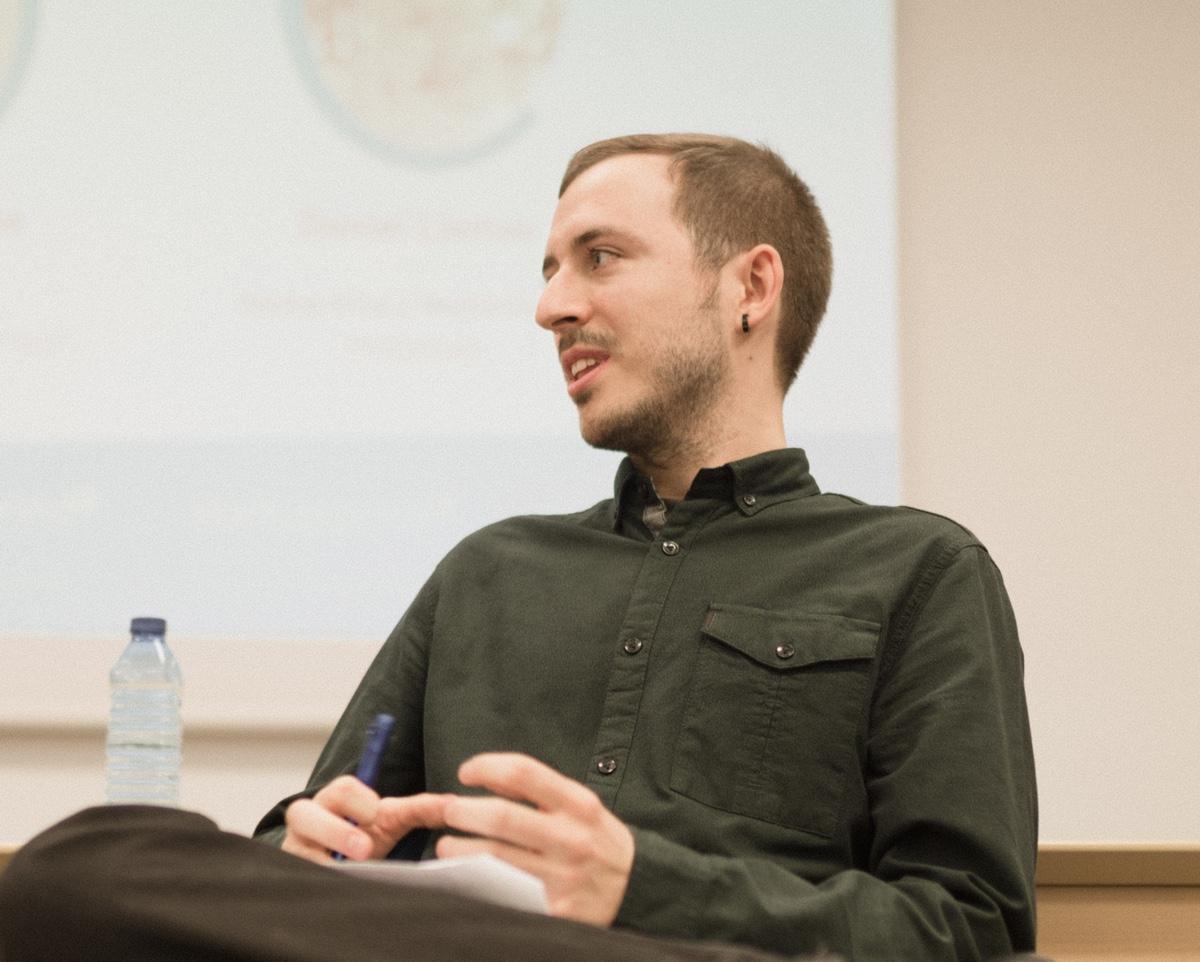 Foto de Daniel Llamas, Embajador de Innovación de OIC