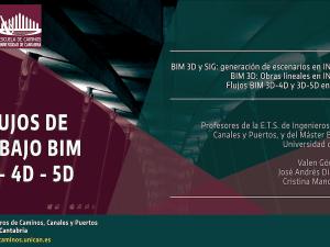 """Webinar """"Flujos de trabajo BUM 3D-4D-5D"""", organizado por oicteam.com y PTEC, impartido por Valen Gómez Jáuregui, José Andrés Díaz Severiano, Cristina Manchado del Val"""