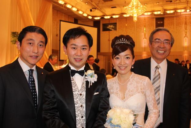 三島秀夫さん・平田和歌子さん結婚披露宴 : 參議院議員 大家 ...