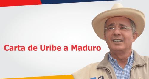 Respuesta de Uribe a Maduro.