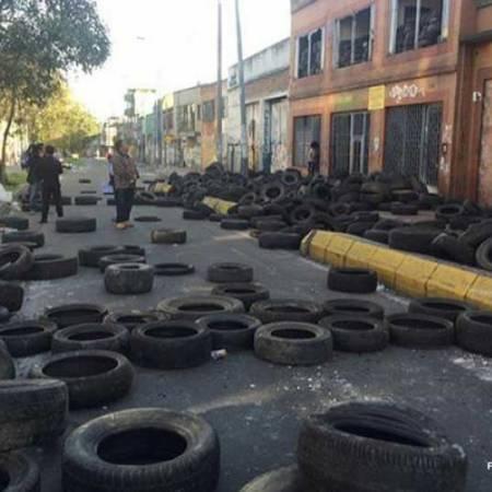 toma de edificio Bogota