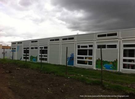Jardines infantiles en contenedores