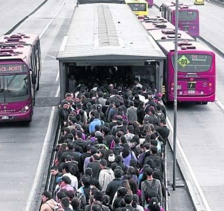 Dia sin carro en Bogota