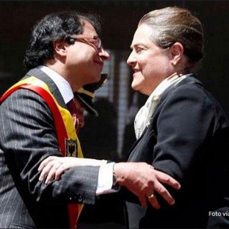 Gustavo Petro y Clara Lopez