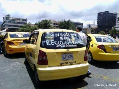 paro taxis Pasto