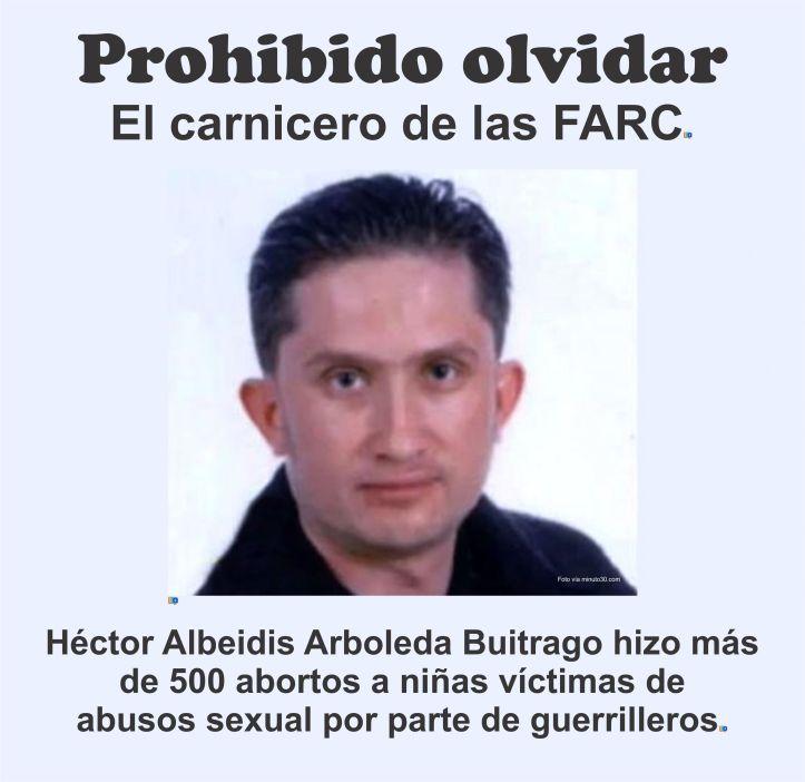 Carnicero de las FARC