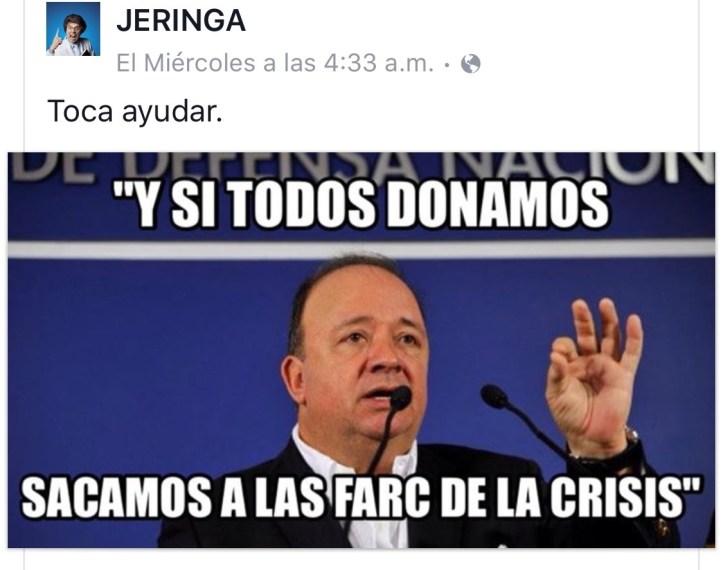 Jeringa ministro