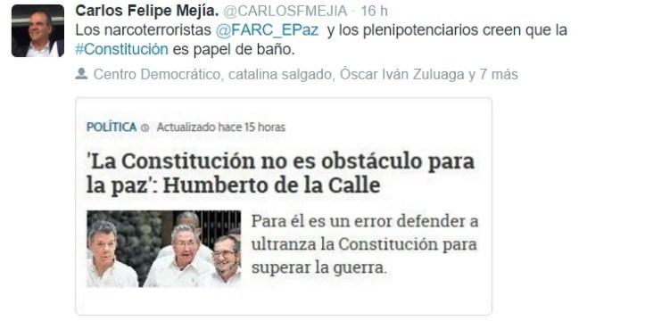 opinion carlos Felipe Mejía