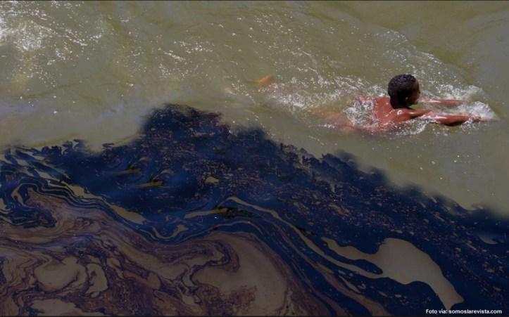 petróleo ríos