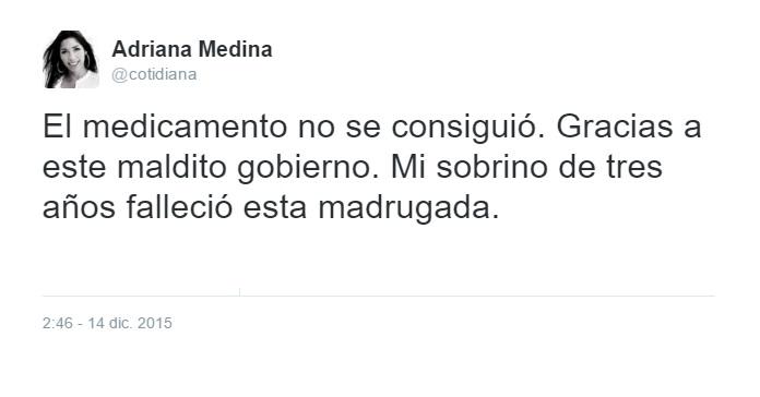 tweet niño venezuela