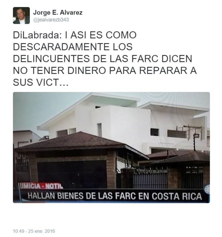 bienes de las FARC