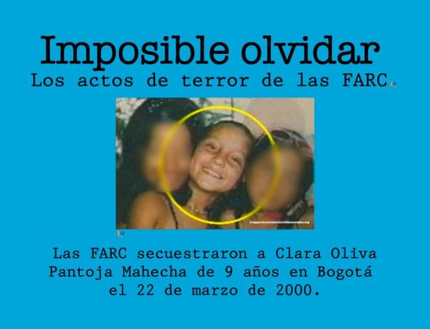 secuestro Clara Olivia
