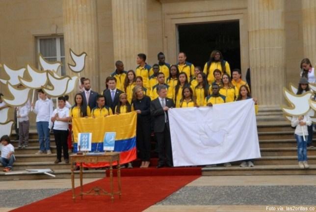 deportistas colombianos