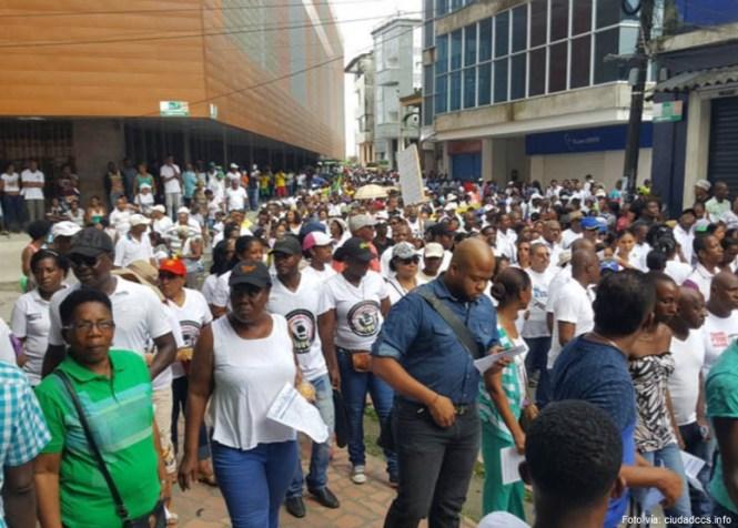 protesta chocó