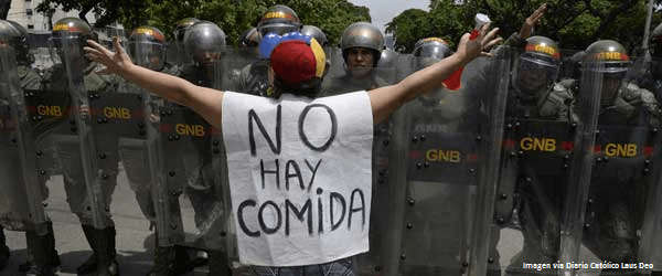venezuela niños hambre