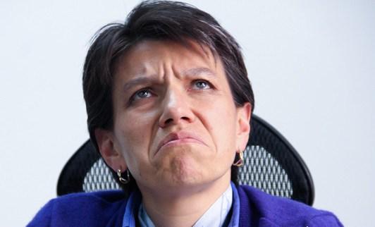 Claudia López quería hacer trampa pero Juez la frena