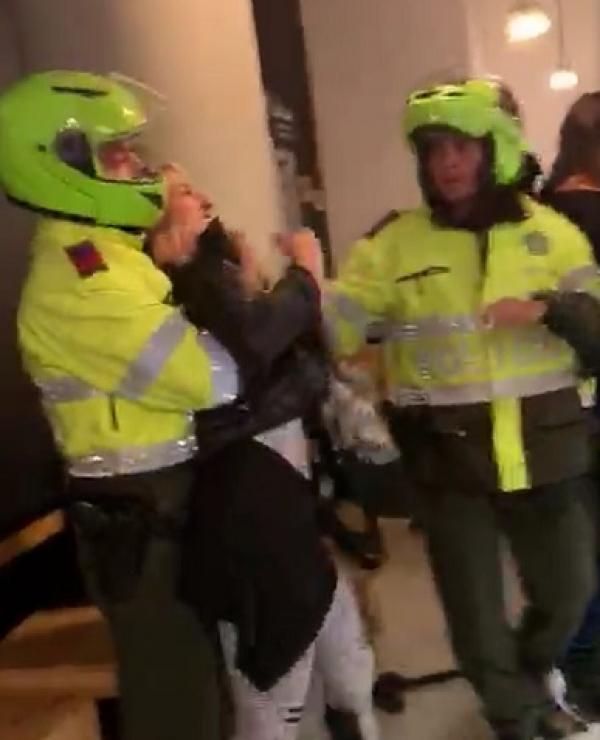 Brutal golpiza de policías contra un mayor del Ejército y su esposa