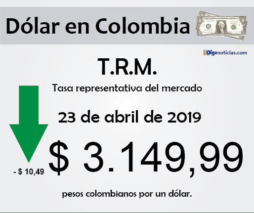 dolar 23abr2019